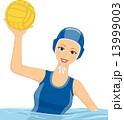 Girl Water Polo 13999003