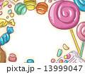 お菓子 スイーツ スィーツのイラスト 13999047