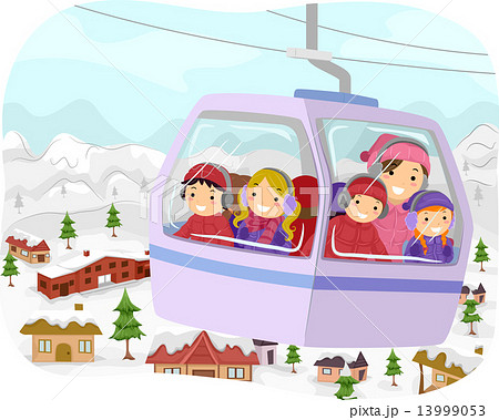 Stickman Kids Cable Car 13999053