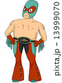 Mexican Wrestler Pose 13999070