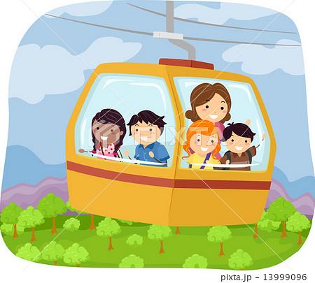 Stickman Forest Cable Car 13999096