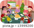 クリスマスイブ クリスマスイヴ 聖夜のイラスト 13999200