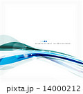 Blue business corporate wave line background 14000212