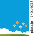 気球 熱気球 風景  14014038