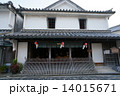 白壁の町 街並 商家の写真 14015671