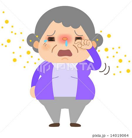 おばあちゃん_目がかゆい 14019064