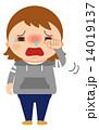 アレルギー 鼻炎 ベクターのイラスト 14019137