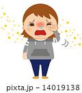 アレルギー 鼻炎 ベクターのイラスト 14019138