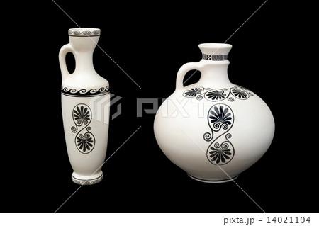 Two greek vasesの写真素材 [14021104] - PIXTA