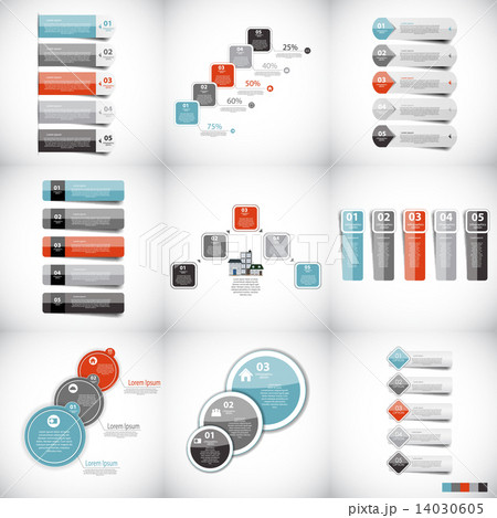 Infographic Templates for Business Vector Illustration. のイラスト素材 [14030605] - PIXTA
