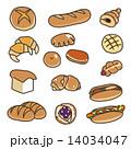 色々な種類のパン 14034047