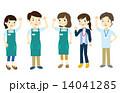 スタッフ 介護福祉士 ヘルパーのイラスト 14041285