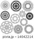 エンブレム 記章 装飾のイラスト 14042214