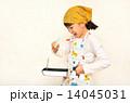 料理をする女の子 14045031