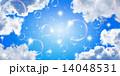 ベクター しゃぼん玉 背景のイラスト 14048531