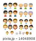 人物セット【二頭身・シリーズ】 14048908