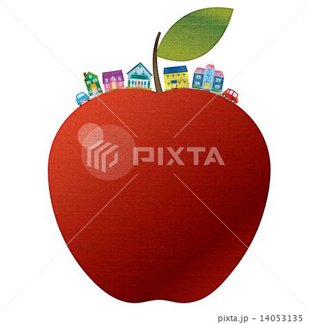 りんご 建物 家 不動産 14053135