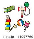 暮らしのイラスト|育児・日本のおもちゃ 14057760