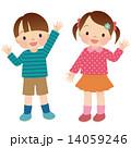 元気な子供 全身 14059246