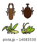 季節・行事のイラスト|昆虫 14083530