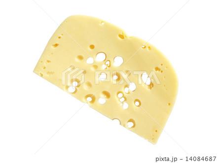 Cheese Sliceの写真素材 [14084687] - PIXTA
