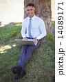 ビジネスマン 人 男の写真 14089171