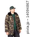 コート カモフラージュ 迷彩の写真 14094867