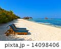 デッキチェア リゾート モルジブの写真 14098406