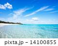 沖縄のビーチ・長浜ビーチ 14100855