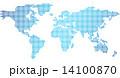 世界地図 ベクター 世界のイラスト 14100870