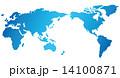 世界地図 ベクター 世界のイラスト 14100871