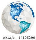 ワールドマップ 世界地図 地球のイラスト 14106290