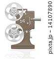 プロジェクター プロジェクタ ムービーのイラスト 14107890