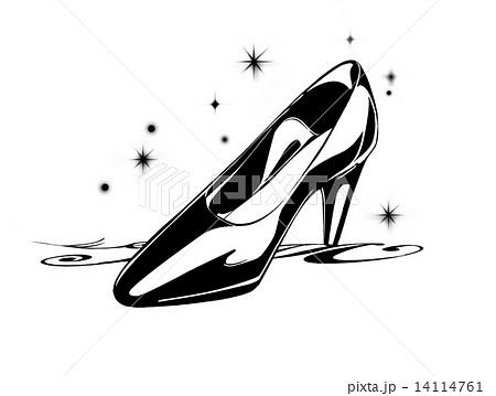 ガラスの靴のイラスト素材 14114761 Pixta