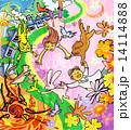 犬 動物 猫のイラスト 14114888
