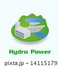 水力発電イメージイラスト 14115179