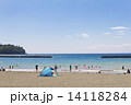 海水浴場 海水浴 海の写真 14118284