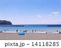 海水浴場 海水浴 海の写真 14118285