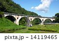 宮守川橋梁 アーチ橋 眼鏡橋の写真 14119465