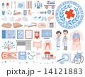 医療 介護 アイコン 14121883