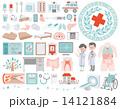 医療 介護 アイコン 14121884