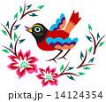 エンブレム 記章 デザインのイラスト 14124354