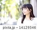 若い女性 ポートレート 14129346