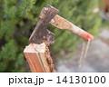 斧 薪割り 手斧の写真 14130100