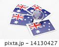 オーストラリアの旗 14130427