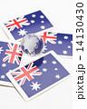 オーストラリアの旗 14130430
