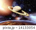 ドーナツ星雲と宇宙 14133054