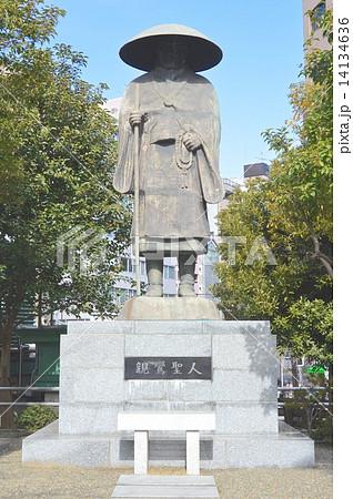 親鸞上人の像(築地本願寺/東京都中央区築地3丁目) 14134636