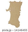 秋田県地図 14146493