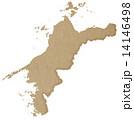 愛媛県地図 14146498